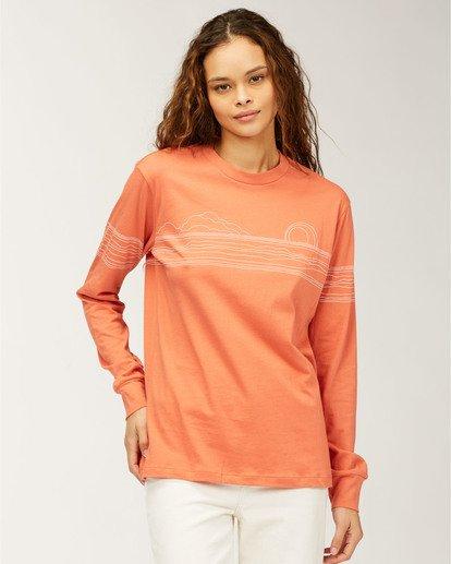 0 Sunshine Club Long Sleeve T-Shirt Yellow ABJZT00186 Billabong