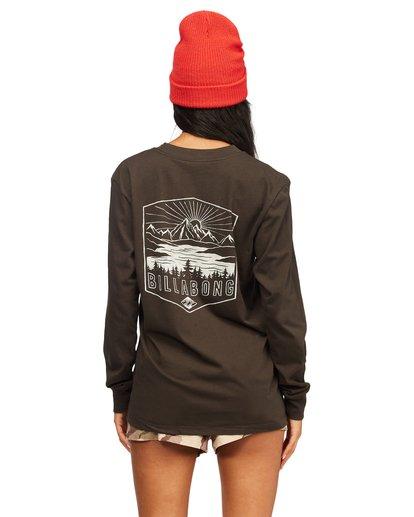 2 A/Div Long Sleeve T-Shirt Black ABJZT00199 Billabong