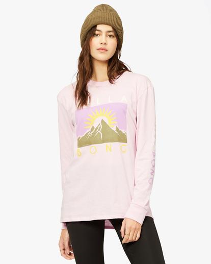 1 A/Div Long Sleeve T-Shirt Purple ABJZT00199 Billabong