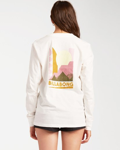2 A/Div Long Sleeve T-Shirt White ABJZT00199 Billabong