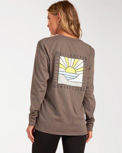 2 A/Div Long Sleeve T-Shirt Orange ABJZT00199 Billabong