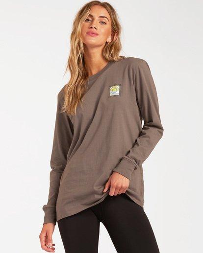0 A/DIV Long Sleeve T-Shirt Orange ABJZT00199 Billabong