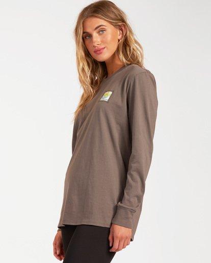 1 A/DIV Long Sleeve T-Shirt Orange ABJZT00199 Billabong