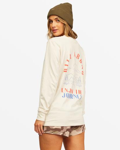 1 A/Div Long Sleeve T-Shirt White ABJZT00199 Billabong