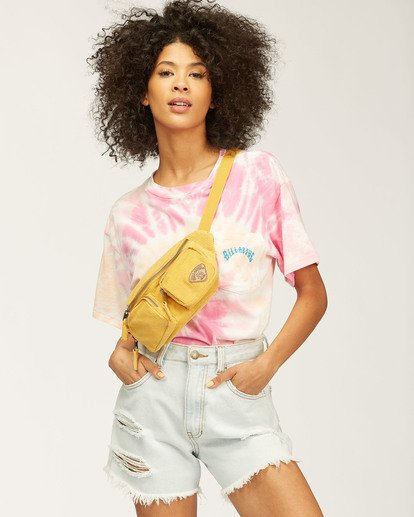 2 Salty Waves Tie-Dye T-Shirt Multicolor ABJZT00203 Billabong