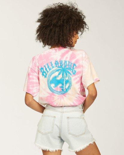3 Salty Waves Tie-Dye T-Shirt Multicolor ABJZT00203 Billabong
