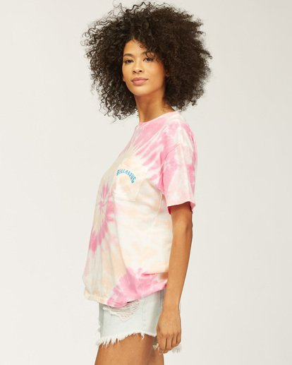 4 Salty Waves Tie-Dye T-Shirt Multicolor ABJZT00203 Billabong