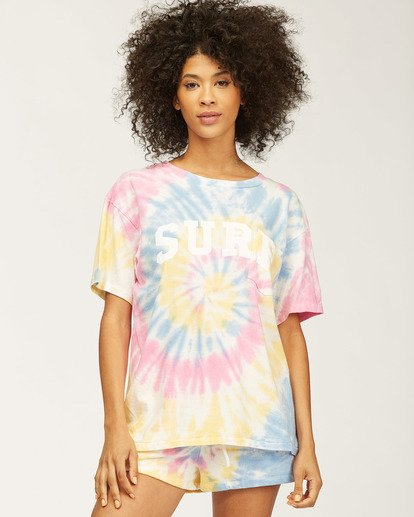 3 Surf Tie-Dye T-Shirt Grey ABJZT00204 Billabong