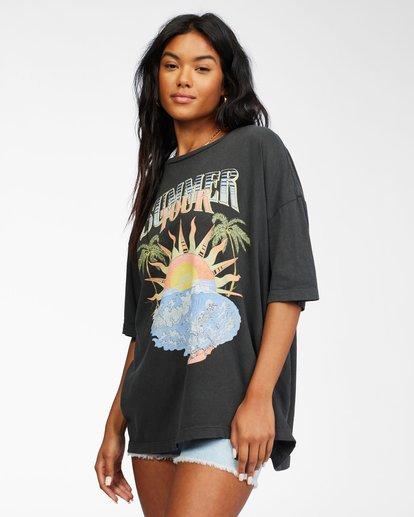 1 Summer Tour T-Shirt Black ABJZT00239 Billabong