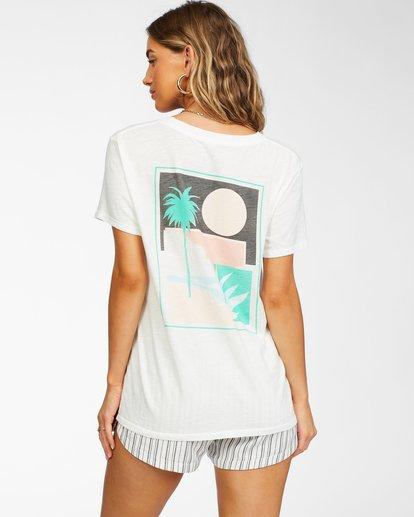 3 Sun Bleached View T-Shirt White ABJZT00257 Billabong
