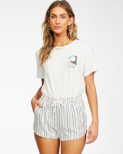 1 Sun Bleached View T-Shirt White ABJZT00257 Billabong