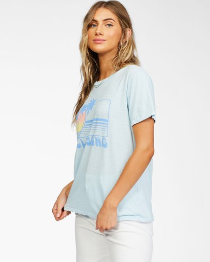 0 Sunset View T-Shirt Black ABJZT00261 Billabong