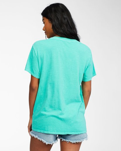 2 Hello Summer T-Shirt Green ABJZT00262 Billabong