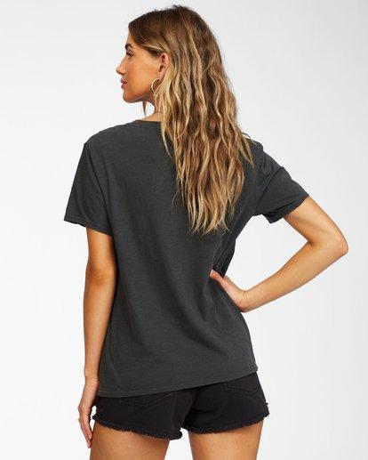 2 This Is The Life T-Shirt Black ABJZT00265 Billabong