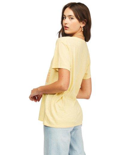 2 Surf Trip T-Shirt Yellow ABJZT00300 Billabong