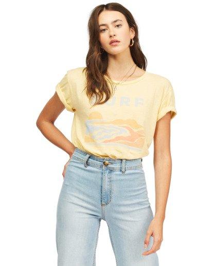 0 Surf Trip T-Shirt Yellow ABJZT00300 Billabong