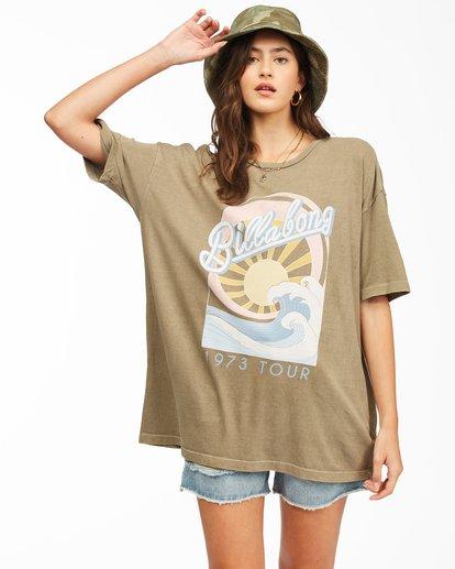 1 Stay Wavy Baby T-Shirt Green ABJZT00306 Billabong