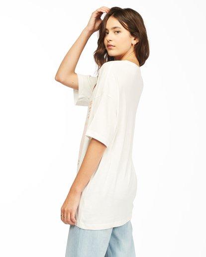 2 Shine Bright T-Shirt White ABJZT00307 Billabong