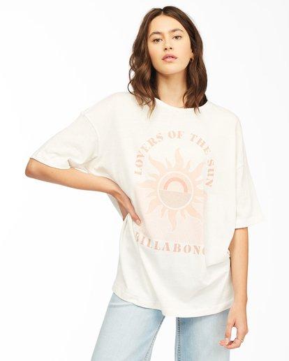 0 Shine Bright T-Shirt White ABJZT00307 Billabong