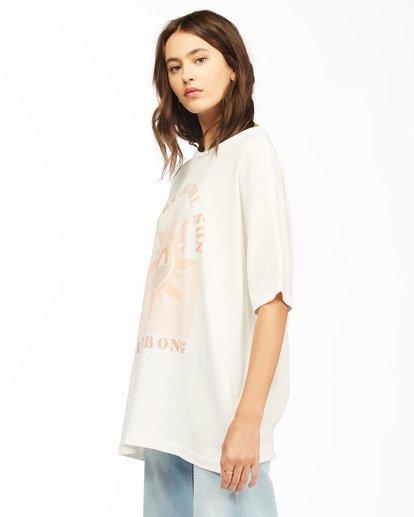 1 Shine Bright T-Shirt White ABJZT00307 Billabong