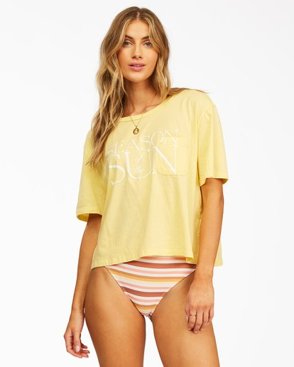 1 Best Season T-Shirt Yellow ABJZT00317 Billabong