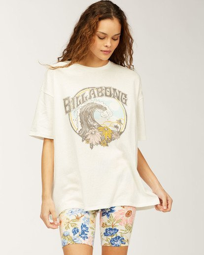 0 Tropic Waves T-Shirt  ABJZT00334 Billabong