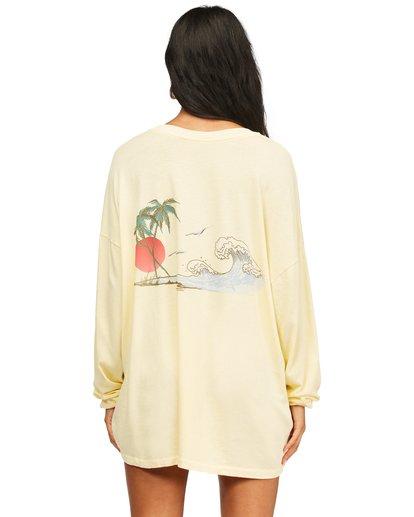 3 Surfer Girl Long Sleeve T-Shirt Orange ABJZT00367 Billabong
