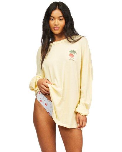 1 Surfer Girl Long Sleeve T-Shirt Orange ABJZT00367 Billabong