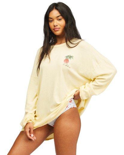 2 Surfer Girl Long Sleeve T-Shirt Orange ABJZT00367 Billabong