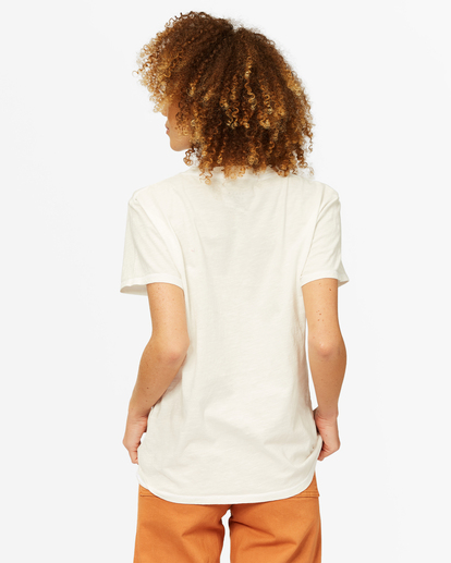 2 Mountain Mama Boyfriend T-Shirt White ABJZT00376 Billabong