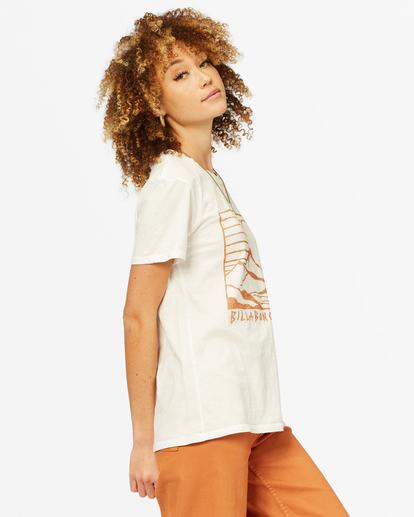 1 Mountain Mama Boyfriend T-Shirt White ABJZT00376 Billabong