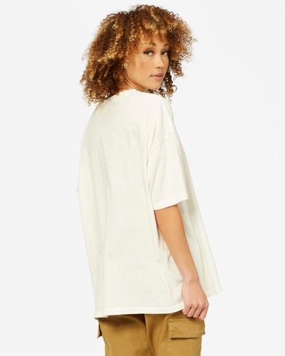 2 Be Kind Boyfriend T-Shirt White ABJZT00461 Billabong