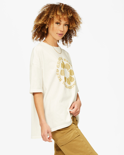 1 Be Kind Boyfriend T-Shirt White ABJZT00461 Billabong