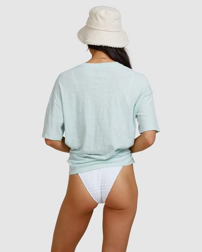 4 Aloha Sun T-Shirt Blue ABJZT00463 Billabong