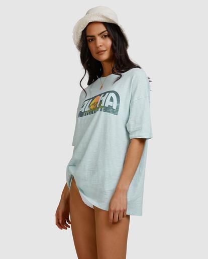 2 Aloha Sun T-Shirt Blue ABJZT00463 Billabong