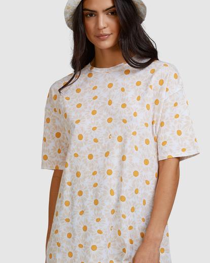7 Daisy Chain T-Shirt White ABJZT00464 Billabong