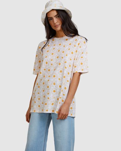 2 Daisy Chain T-Shirt White ABJZT00464 Billabong