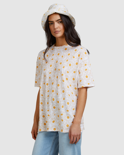 3 Daisy Chain T-Shirt White ABJZT00464 Billabong