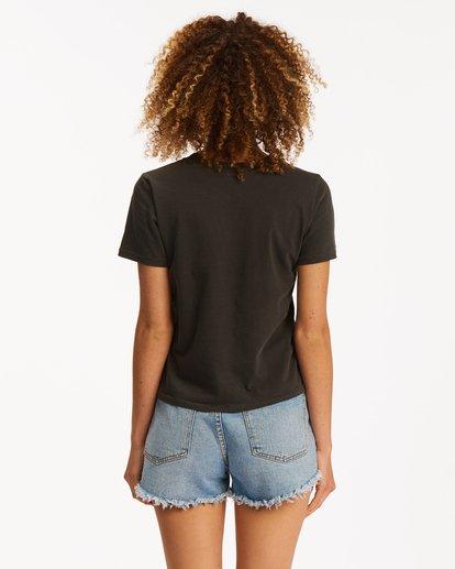 3 Horizons Short Sleeve T-Shirt Black ABJZT00471 Billabong