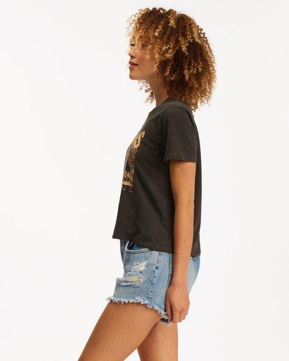 2 Horizons Short Sleeve T-Shirt Black ABJZT00471 Billabong