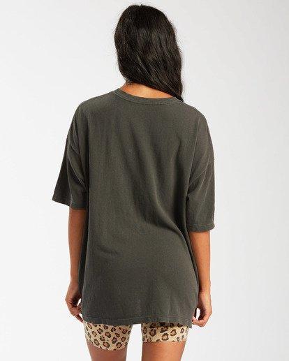 2 Love Louder T-Shirt Black ABJZT00476 Billabong