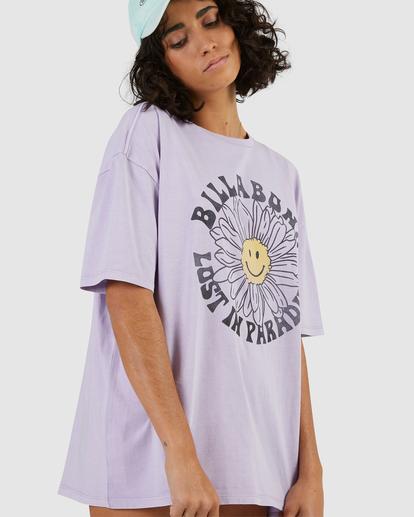 5 Sunny Day T-Shirt Purple ABJZT00500 Billabong