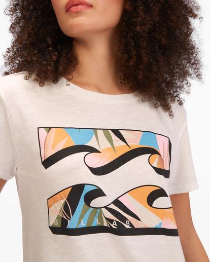 3 Wild Wave T-Shirt White ABJZT00510 Billabong