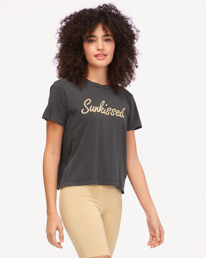1 Sunkissed T-Shirt Black ABJZT00603 Billabong