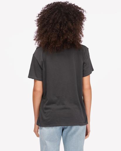 2 Sun Club Boyfriend T-Shirt Black ABJZT00605 Billabong