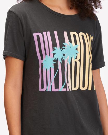 3 Sun Club Boyfriend T-Shirt Black ABJZT00605 Billabong