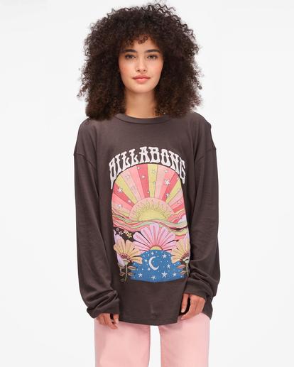 0 Beautiful Day Long Sleeve T-Shirt Black ABJZT00613 Billabong
