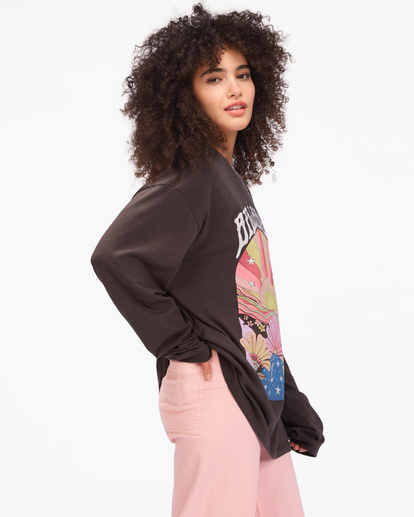 1 Beautiful Day Long Sleeve T-Shirt Black ABJZT00613 Billabong
