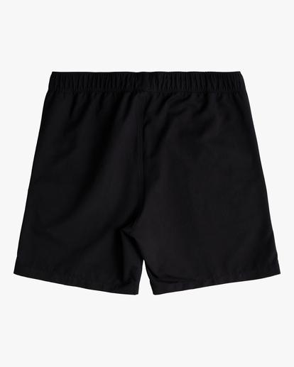 "1 Boy's (2-7) All Day Layback Boardshorts 17"" Black ABTBS00115 Billabong"