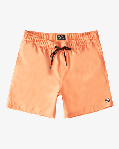 "0 Boy's (2-7) All Day Layback Boardshorts 17"" Green ABTBS00115 Billabong"
